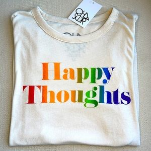 HAPPY THOUGHTS LIGHTWEIGHT T~SHIRT